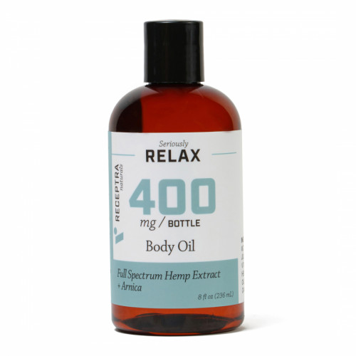 Receptra - Serious Relax + Arnica Body Oil 400mg